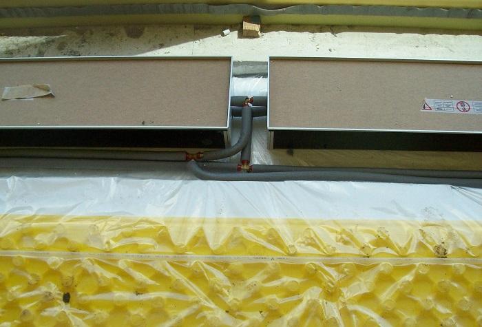 Instalace podlahových konvektorů