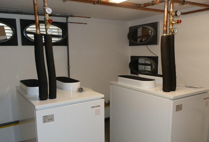 Instalace tepelná čerpadla