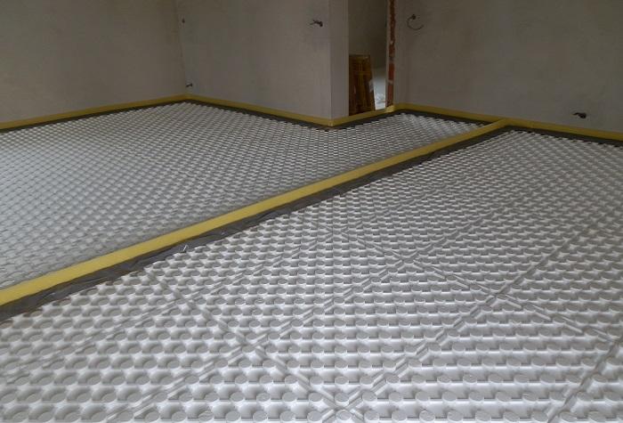 systémové desky - podlahové topení