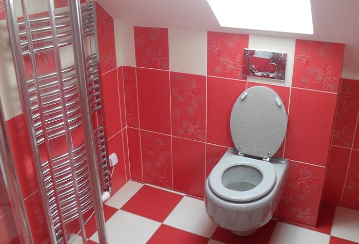 Montáž WC, umyvadla a sprchového koutu